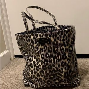 Kate Space Leopard Shopper Tote